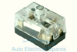 190768 Continental fuse box 2 way with screw terminals 6v / 12v