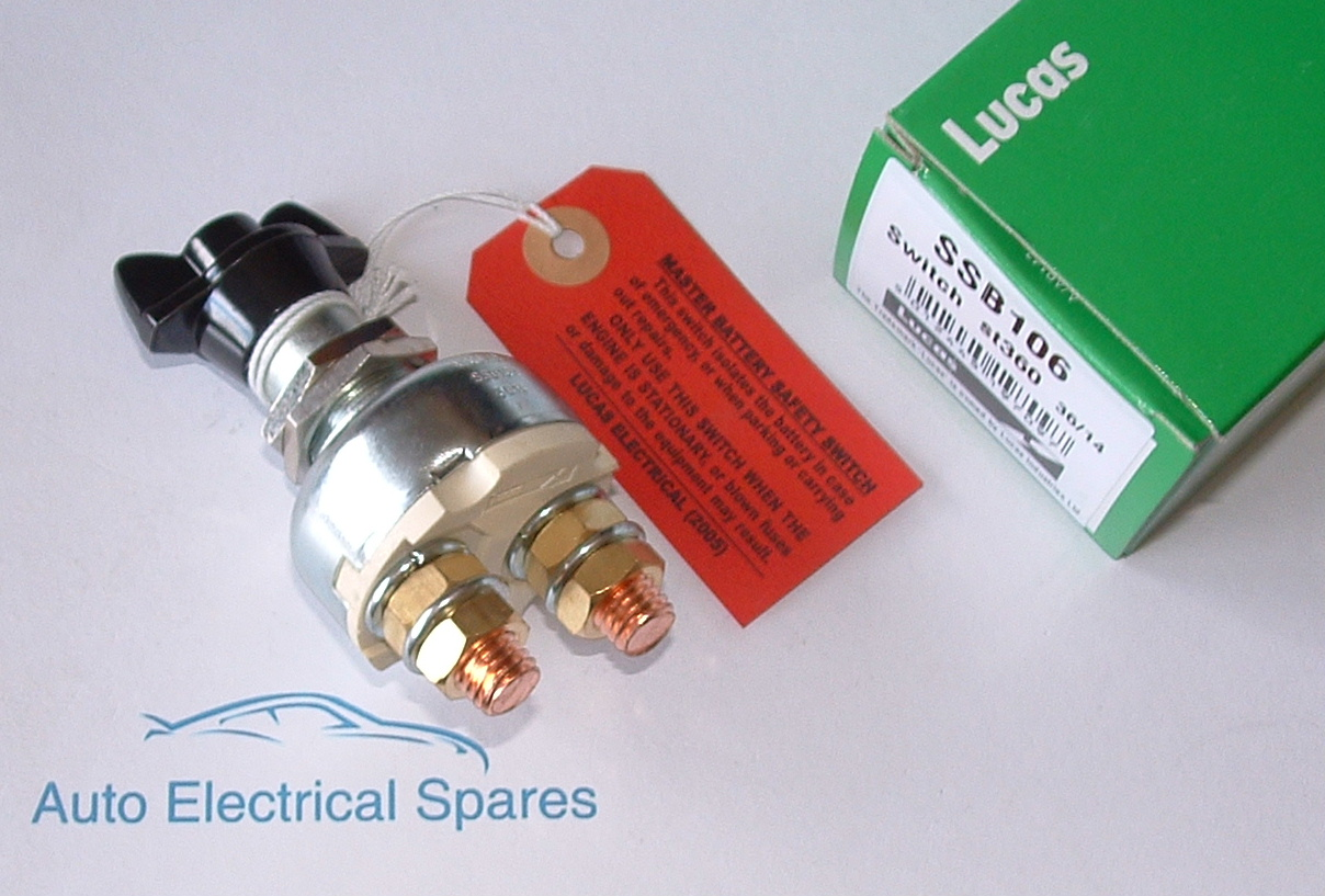 Battery Master Switch : Lucas ssb st rotary battery master switch genuine