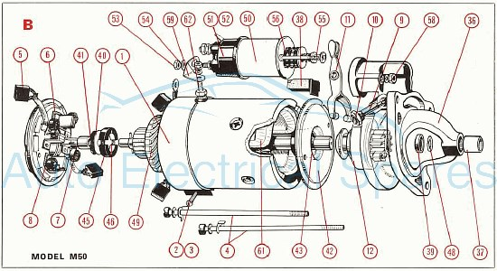 Lucas alternator starter motor diagrams asfbconference2016 Choice Image