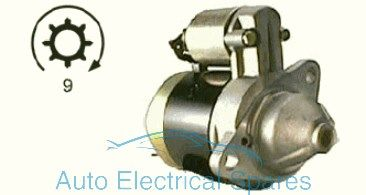 110552 Starter motor replaces Bosch 0001107078