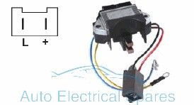 130663 Voltage regulator replaces Valeo yl142