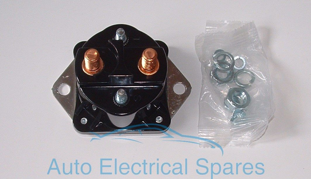 133857 12v 4 Terminal Starter Solenoid Replaces Mercury
