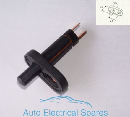 180010 CLASSIC//KIT CAR 12v 3 position push pull light switch with screw terminals