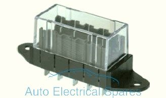 192058 Standard blade fuse box 5 way REAR entry