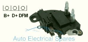 239983 Voltage regulator replaces MAGNETTI MARELLI 85552506