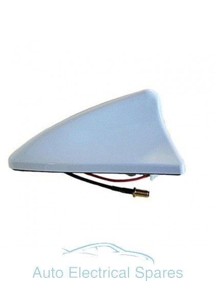 AM3740 Shark Fin Antenna / Aerial White