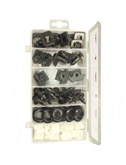 Assorted Nissan Trim Clips x 57