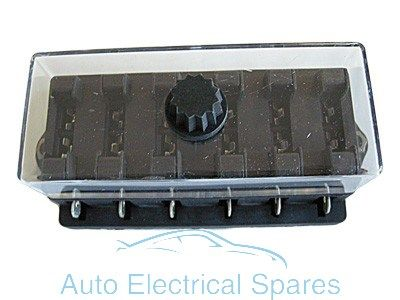 FH23 Standard blade fuse box 6 way 12v
