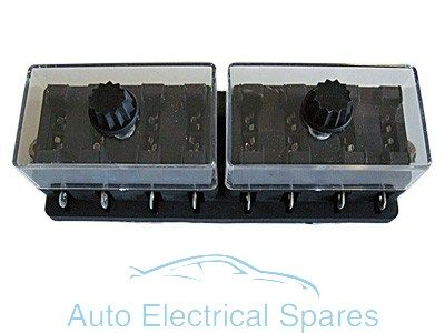 FH24 Standard blade fuse box 8 way 12v