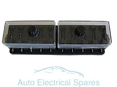 FH25 Standard blade fuse box 10 way 12v