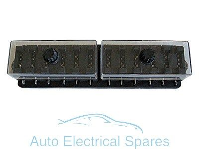 FH26 Standard blade fuse box 12 way 12v