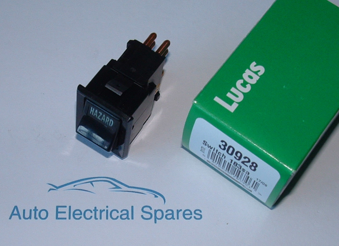 Toggle Switch Wiring >> lucas 30928 183SA hazard switch