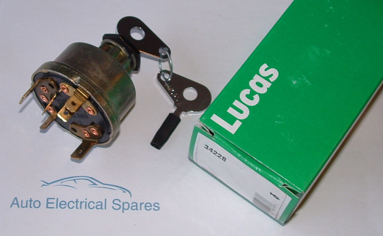 Lucas 34228 128SA ignition switch on