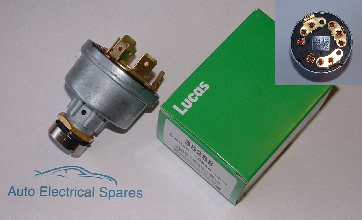 Lucas 35288 128sa Ignition Switch