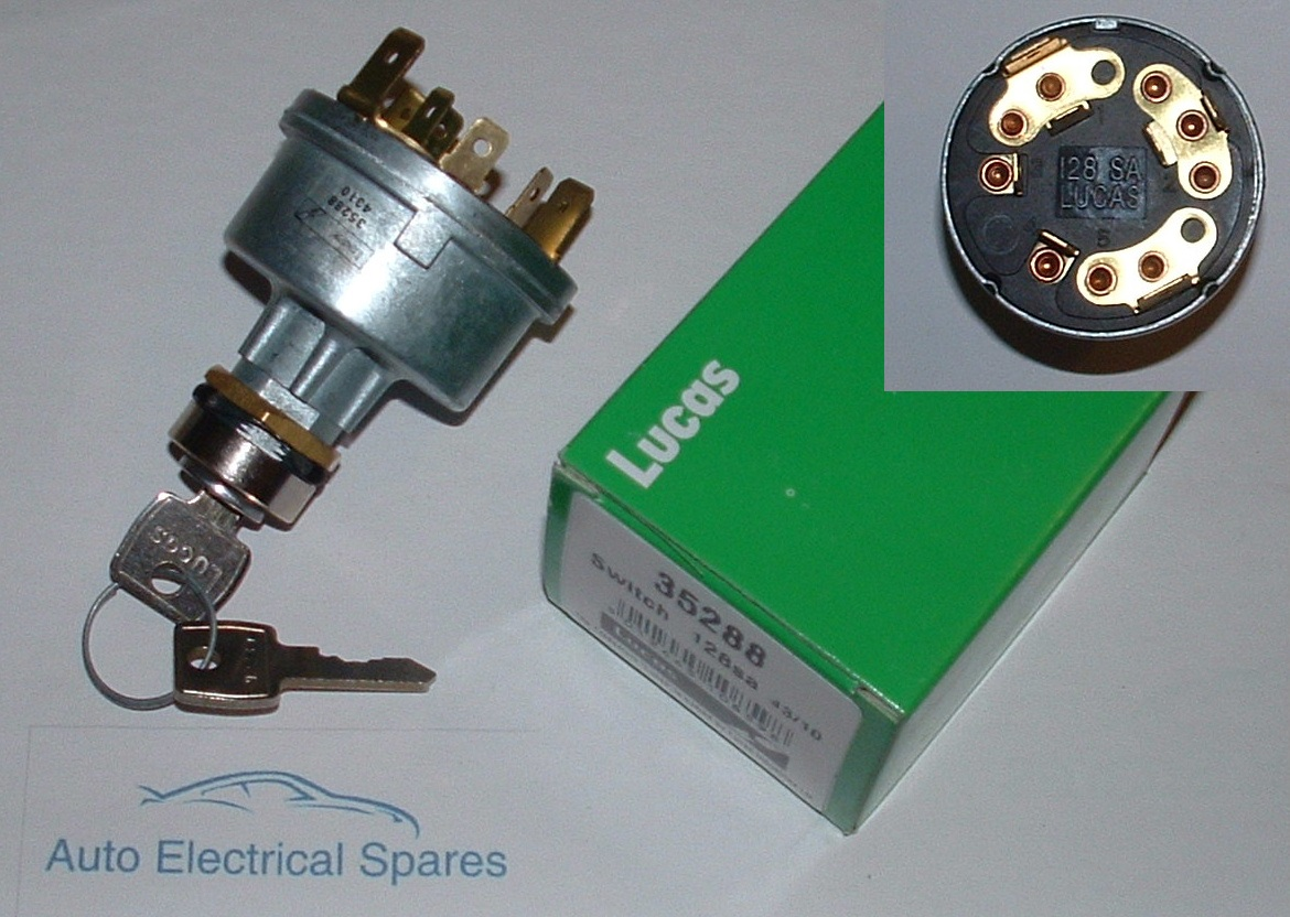 Lucas 35288 128sa ignition switch lock and keys swarovskicordoba Choice Image