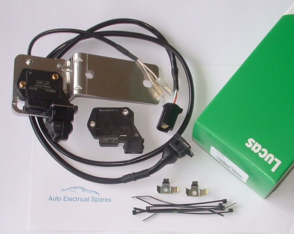 lucas  dab ignition amplifier relocation kit