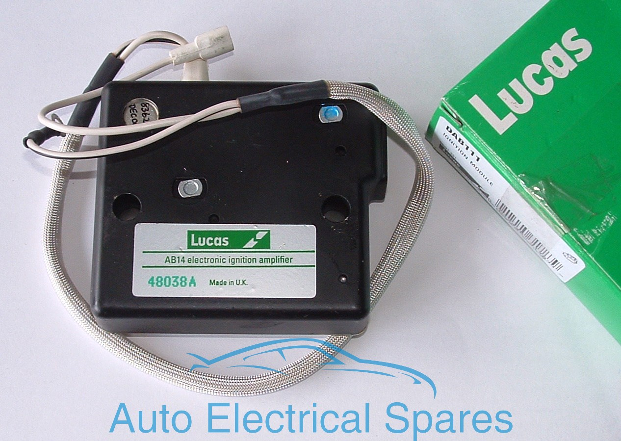 Lucas Dab111 48038a Electronic Ignition Amplifier Ab14