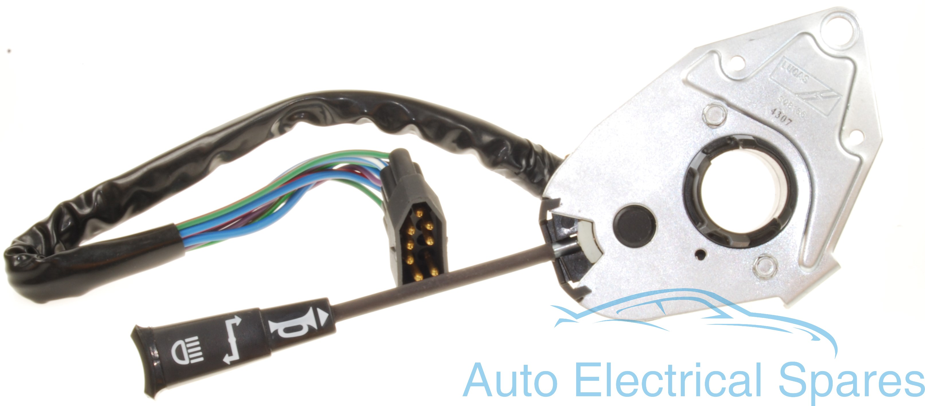 Lucas Sqb166 30445 163sa Indicator Switch Mini 1275 Gt With Alternator And Rocker Type Switches