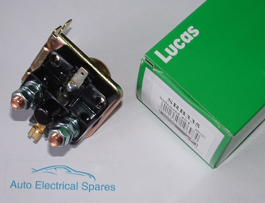lucas srb335 77117 76795 76789 4st external solenoid genuine acc fuse box hei distributor ac fuse box central air