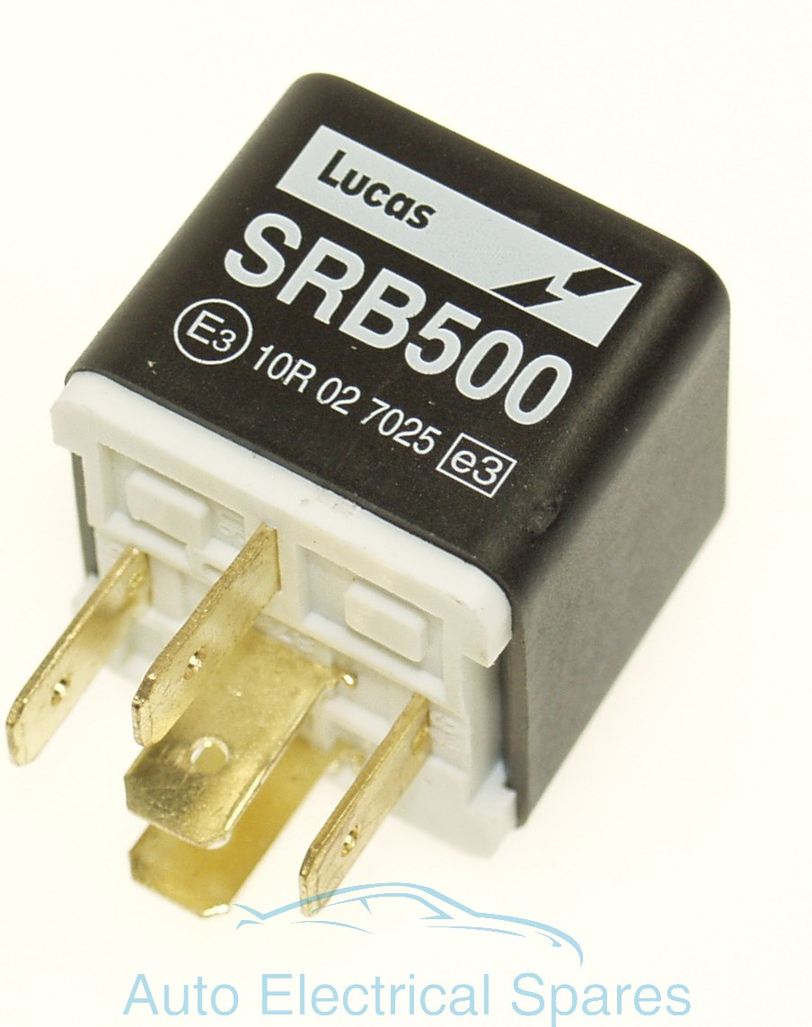 Lucas Srb500 28ra Relay 12v 20 30a Alu1048 Kit Car Fuse Box