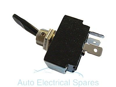 Lucas type toggle switch 3 position 3 terminals OFF-ON-ON