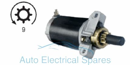 Starter Motor 12v replaces MERCURY Marine 50-834749